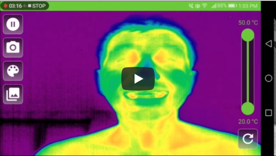 Why was I sitting in my office without a shirt [ThermoBuzzer Mobile Thermography]