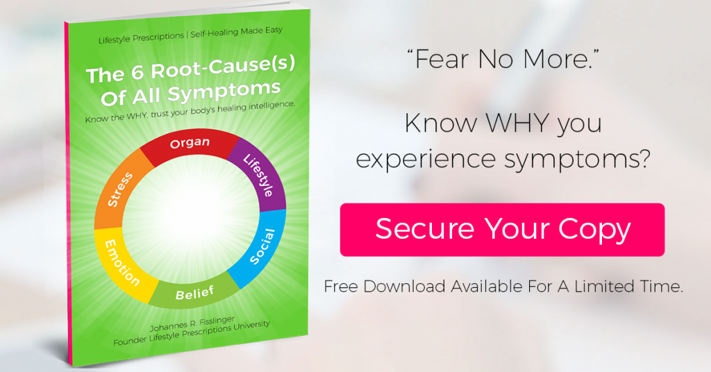 Fear no more. Know WHY you have symptoms [Book Pre-Launch]