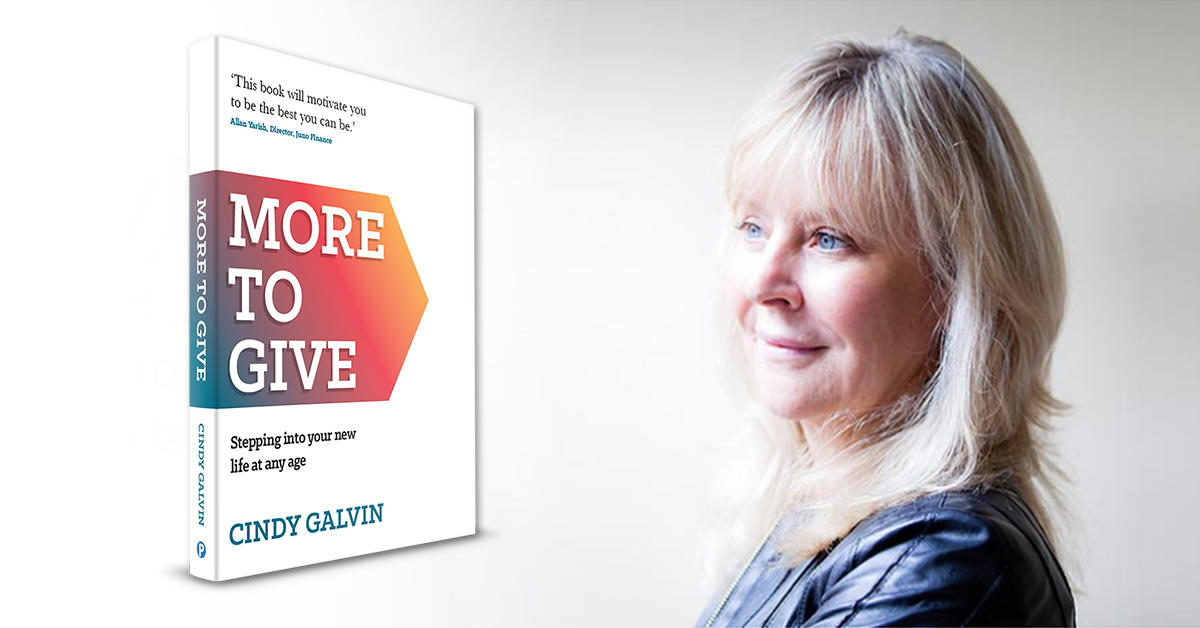 """'New Book] """"More To Give"""" with Cindy Galvin, Lifestyle Prescriptions Health Coach"""