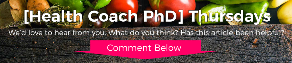 Lifestyle Prescription University [Health Coach PhD] Thursdays Transformational News