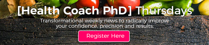 Lifestyle Prescription University [Health Coach PhD] Thursdays News
