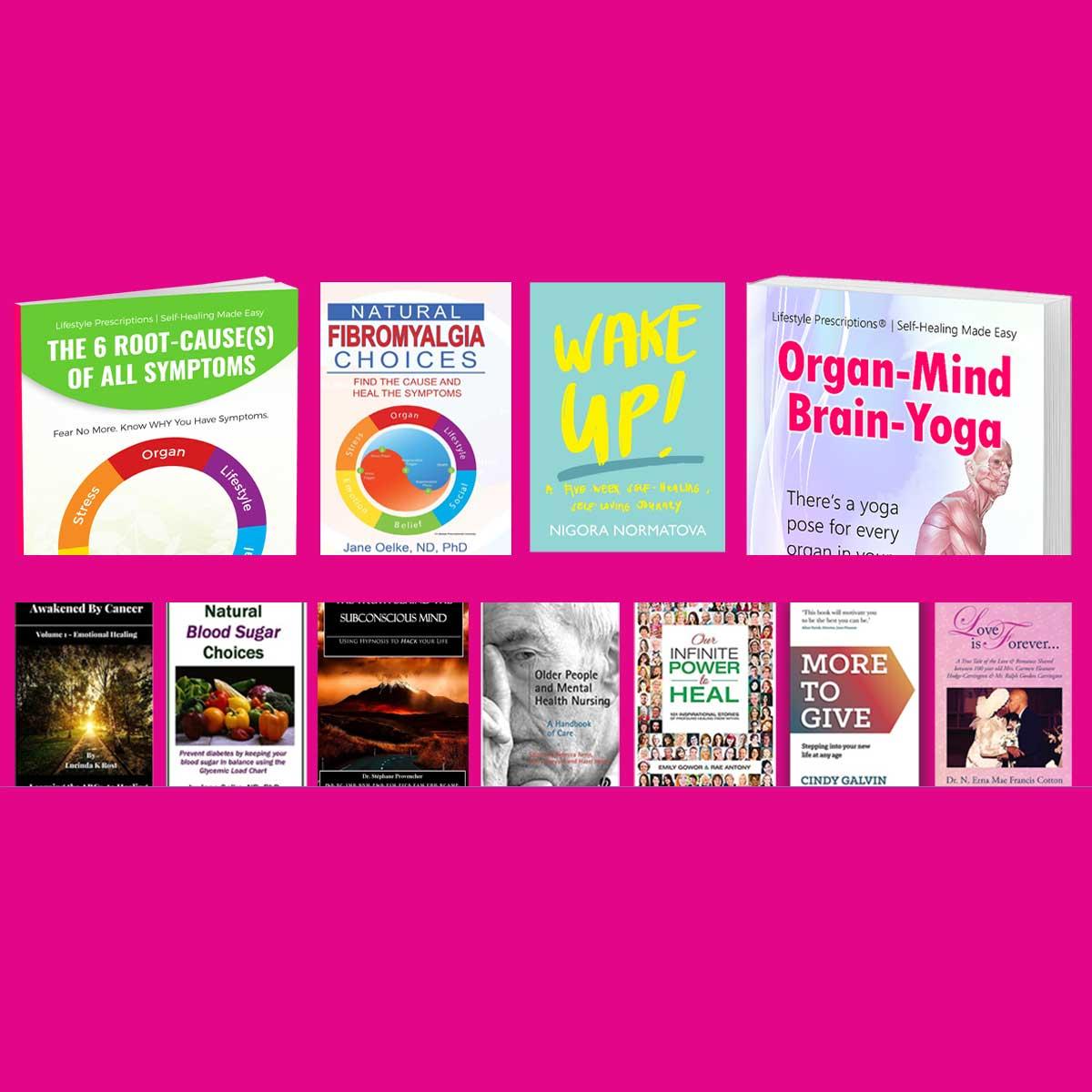 11 Inspirational Lifestyle Prescription® Specialist Books
